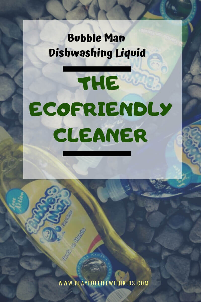 Playful Life with Kids Bubble Man Dishwashing Liquid: Your Eco-Friendly Cleaner