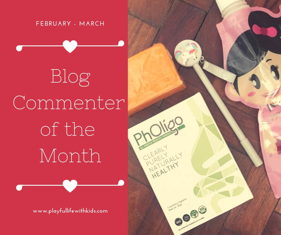 Playful Life with Kids Blog Commenter of the Month February 1